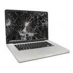 macbook pro 13 schermo rotto